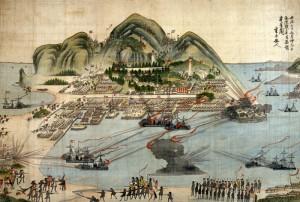 箱館戦争図