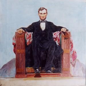 絵本「リンカーン」挿絵